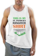 This Is My St. Patrick's Hangover Shirt - Funny Party Singlet Irish