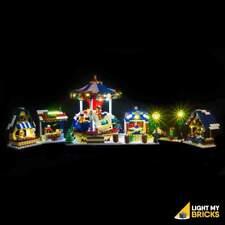 LIGHT MY BRICKS - LED Light Kit for LEGO Winter Village Market 10235 set - NEW