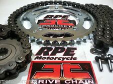 HONDA VFR800 Fi '02/12 NEW JT  X-Ring CHAIN AND SPROCKET KIT *OEM 530 or CUSTOM