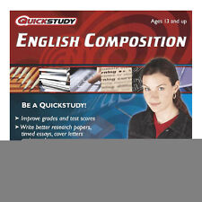 Speedstudy ENGLISH COMPOSITION Essays Papers * NEW SEALED FREE SHIPPING *