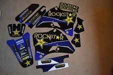 TEAM  ROCKSTAR  GRAPHICS YAMAHA YZ125 YZ250 GTS 1996 1997 1998 1999 2000 2001