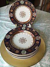 Antique Ashworth Imari Soup Bowls Set Of 8