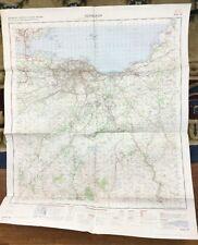 More details for 1971 vintage military map of edinburgh scotland original cold war office issue