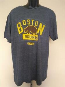 New Boston Bruins 2016 Winter Classic Mens Size XL Gray CCM Shirt