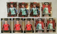 2018-19 Panini Select/Prizm 9 Card Lot Cristiano Ronaldo Base Portugal