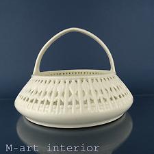 Gustav Partz für Max Roesler Keramik Korb Henkelschale Basket Art Déco um 1926