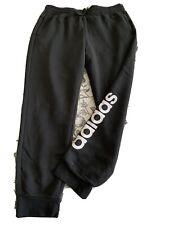 Adidas Black Tracksuit Gym Pants Xl 16 18 Bnwot