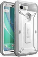Google Pixel 2 XL Case Shock Absorbing Heavy Full Body Armor Cover White