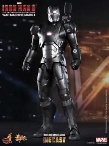 Hot Toys Marvel Iron Man 3 War Machine Mark II Diecast Figure MMS198D03