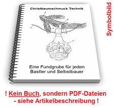 Christbaumschmuck selbst bauen - Christbaumkugel Weihnachtsbaum Schmuck Technik