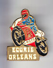 RARE PINS PIN'S .. MOTO MOTORCYCLE CLUB TEAM ECURIE CENTRE ORLEANS 45 ~C1