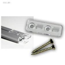 2x Pinza bloccaggio profili per alluminio profilo (NON PER TUTTI, vedi descriz.