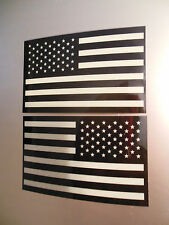 """American Subdued Flag Decal SET Tactical Military USA Vinyl Sticker 3.5"""""""