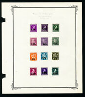 Belgium Specialty Stamp Collection