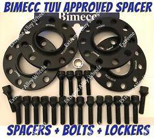 Alloy Wheel Spacers 15mm / 20mm Bmw X3 X4 F25 F26 M14X1.25 + Lockers B Bimecc