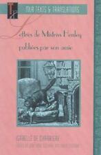 Lettres de Mistriss Henley Publiées Par Son Amie, de Charriere, 9780873527750