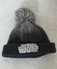 Star Wars Knitted Black Bobble Winter Next Hat Age 5-6 Years