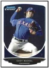 2013 Bowman Chrome Mini #203 Cody Buckel Texas Rangers NM-MT
