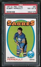 1971 72 OPC O-Pee-Chee #60 Gilbert Perreault PSA 8 nm-mt