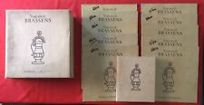 COFFRET GEORGES BRASSENS VINGT ANS POEMES CHANSONS 1973 VG+ 11X VINYLES 33T LP