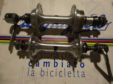 Vintage Campagnolo Super Record 32 hole 35x24F hubs&skewers.L'Eroica