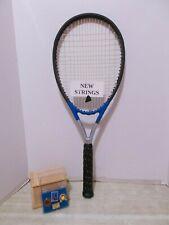 Head Ti S1 Xtralong OS 107 Tennis Racquet 4 3/8 - NEW STRINGS + BONUS + VGC