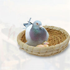 Artificial Straw Grass Nest for Pigeon hamster Small Pets Natural Straw Mat 20CM