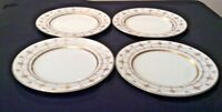 PALAZZO CRESCENT MADE IN JAPAN Set OF 4 BREAD & BUTTER PLATES 1 w/small chip