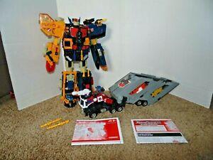 Hasbro Transformers Energon Optimus Prime and Omega Supreme Power Linx 2003
