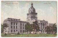 old Nebraska State Capitol Building, Lincoln c1908 Demolished in 1930's
