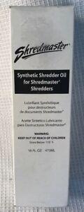 Swingline Shredder Oil 16 oz. .473ml Bottle 1760049 Shredmaster