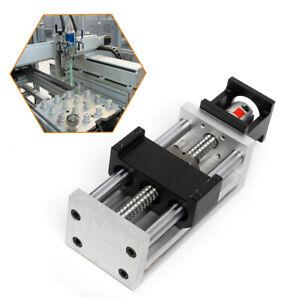 100MM Manuell Schiebetisch CNC Linearführung Lineareinheit 16mm Shaft Hochwertig