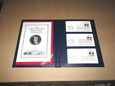 1977 The Official Inaugural Day Medallic/Postal Commemortive Coin Jimmy Carter