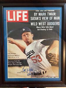 Don Drysdale Signed 1962 LIFE Magazine JSA Full Letter COA Dodgers
