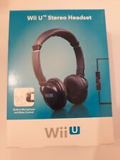 Wii U Rocketfish Stereo Headset NEW Sealed