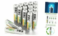 Rechargeable Aaa Batteries (16-Counts) Ready2Charge 1100mAh Ni-Mh Battery