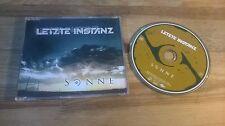 CD gothique dernière instance-soleil (4 chanson) MCD Drakkar sc