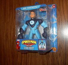 MR. FANTASTIC! Spider-Man and Friends Super Heroes! Grand variant! Toy Biz! RARE
