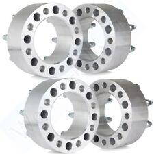 "4Pcs 3"" 75mm Thick 8x6.5 Wheel Spacers 14x1.5 for 1999-2004 Chevy Silverado 2500"