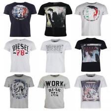 Camisetas de hombre de manga corta multicolor talla XXL