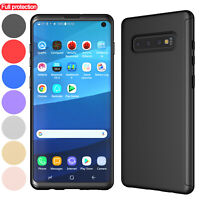 For Samsung Galaxy S10/S10+/S10e Case With Screen Protector 360 Full Phone Cover