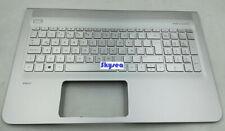 Palmrest&Keyboard EU For HP Envy 15-AE 15T-AE M6-p113dx 15-AH Silver Backlight