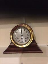 Chelsea Ship Bell Clock