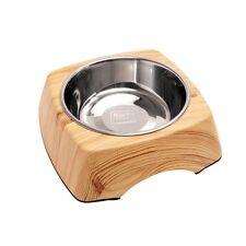 KARLIE - Comedero kulho Madera Pino - 1400 ml - bebedero para perro