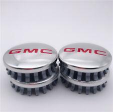 "4x For GMC Sierra Yukon Denali Chrome Wheel Center Hub Caps  83mm 3.25"" 22837060"