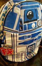 "Star Wars R2D2 Backpack School Bag 15""  NEW"