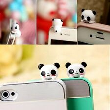3.5mm Panda Anti-Dust Plug Earphone Dustproof Cover Stopper Cap Phone Universal