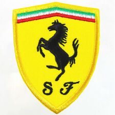 Ferrari Embroidered Patch Embroidery Motor Racing Emblem Mark 60x76mm
