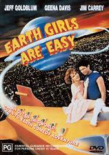 Jeff Goldblum Geena Davis Jim Carrey Damon Wayans EARTH GIRLS ARE EASY DVD