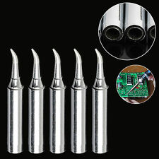 New 5Pcs 900M-T-IS Lead Free Solder Iron Tips for Hakko Soldering Rework Station